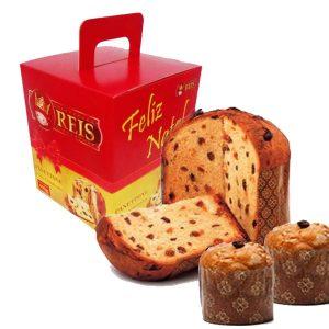 Kit de Degustação - Panetones com Gotas de Chocolate - Chocotones de 400gr e 500gr - Barato - Promoção - Fábrica